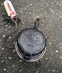 憧れのワッフル焼き器